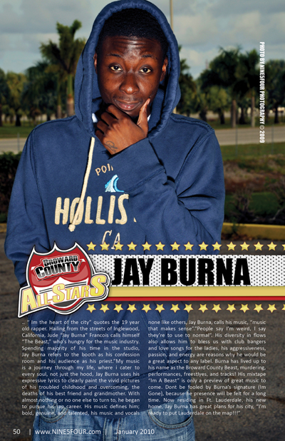 Nine5Four The Magazine Broward County All-Stars: Jay Burna