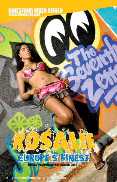 Nine5Four The Magazine ViXen Series: Rosalie Loren