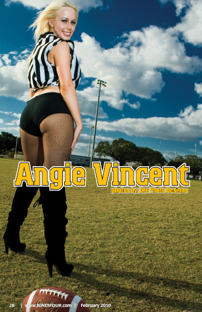Nine5Four The Magazine February 2010 Angie Vincent