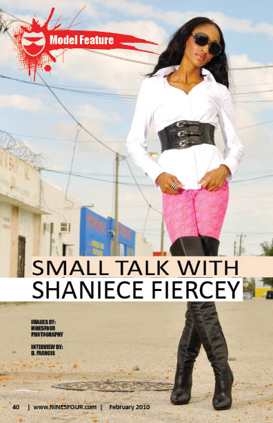 Nine5Four The Magazine: Model Feature Shaniece Fiercey