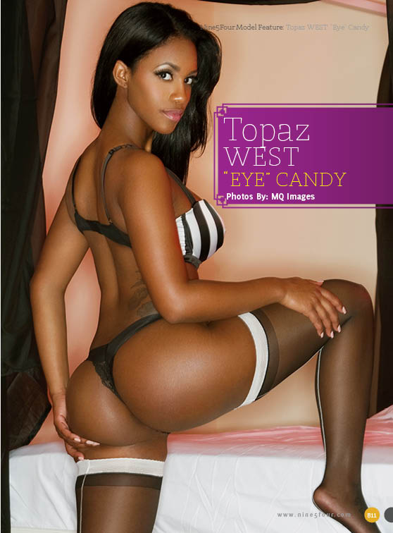 Topaz WEST: Eye Candy