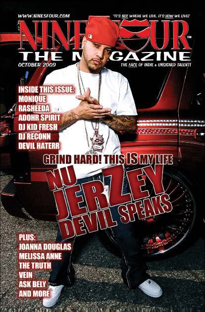 Nine5Four The Magazine Cover Story Nu JerZey Devil