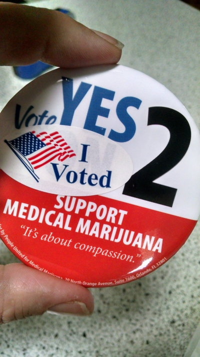 GET OUT AND VOTE: JUST SAY KNOW TO CANNABIS!